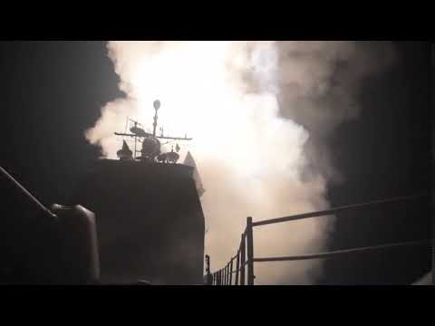 Watch U.S. warship with Louisiana tie fire missiles at Syria