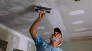 How to Do Drywall Skip Trowel Texture