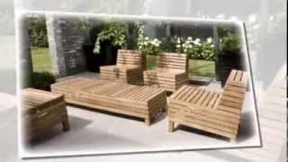 Wood Patio Furniture | My Modern Outdoor Furniture Gallery