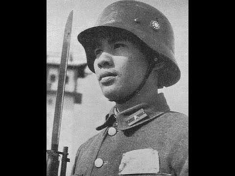 國軍德械師1937 German Trained Chinese Army in 1937