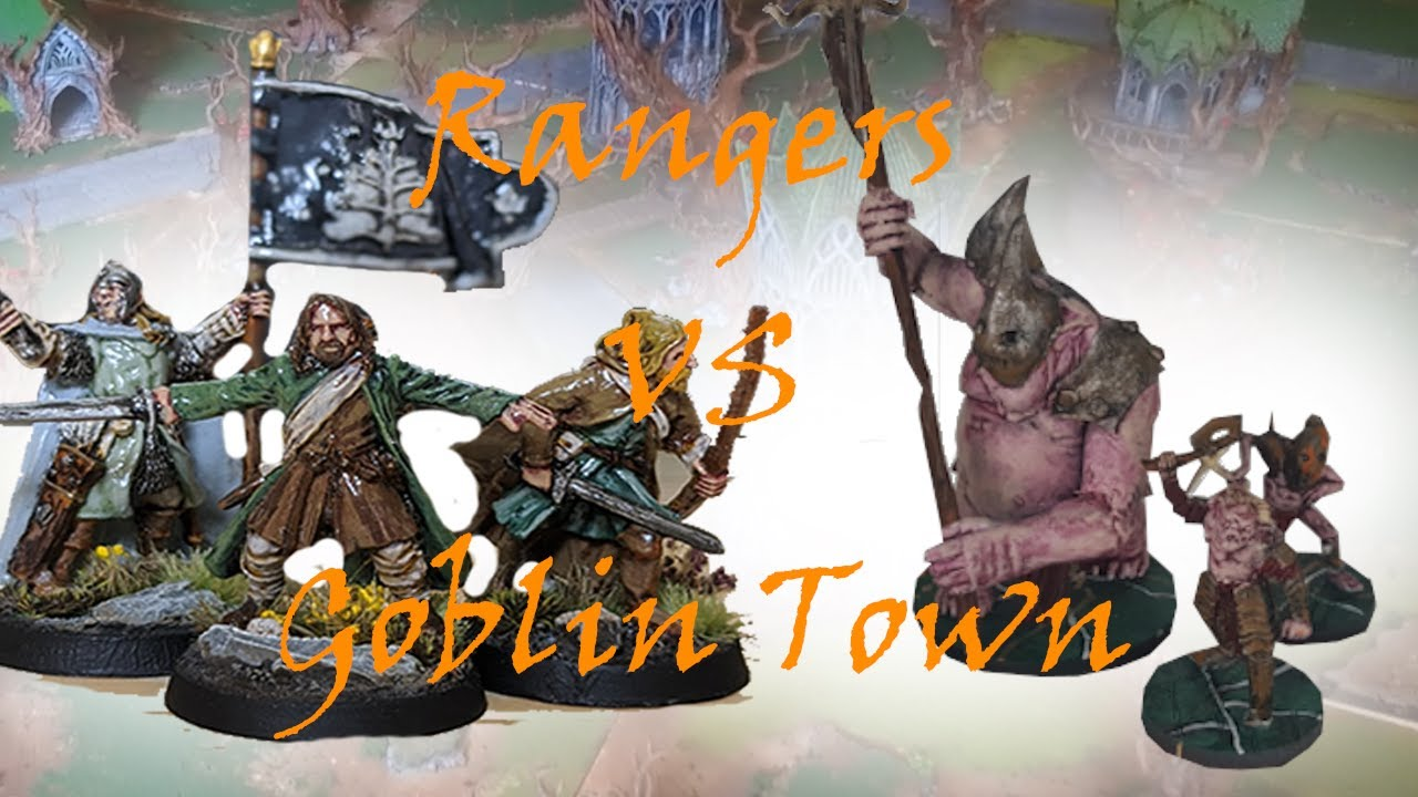 Middle Earth SBG  - Goblin Town vs Rangers of Middle Earth