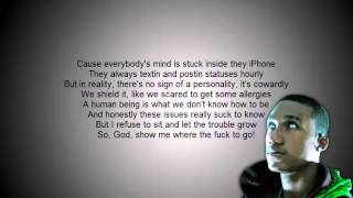 Hopsin - What's My Purpose [LYRICS ON-SCREEN]