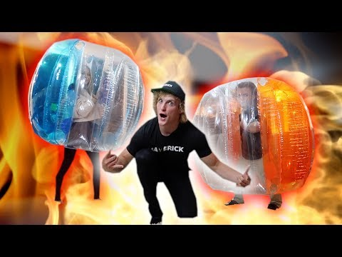 Thumbnail: GIRL VS. DWARF BUBBLE BALL FIGHT! **aggressive**