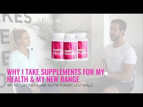 Why I Take Sups for my Health and my New Range With Naturopath/Nutritionist Levi Walz