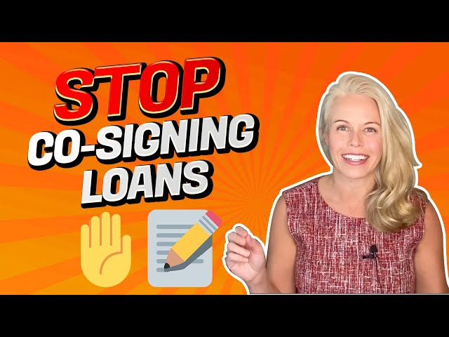 Co-Signing Loans/Mortgages Can Be Horrific - Jeopardizing Qualification For Future Mortgages? 🤔
