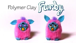 Polymer Clay Furby Tutorial - W/