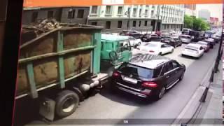 ДТП с 20 машинами на Алеутской