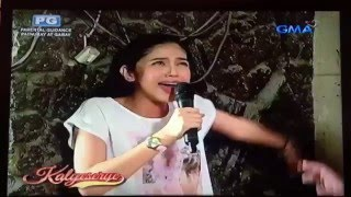 Maine Mendoza sings Live - The Closer I Get To You Eat Bulaga Kalyeserye January 4 2016