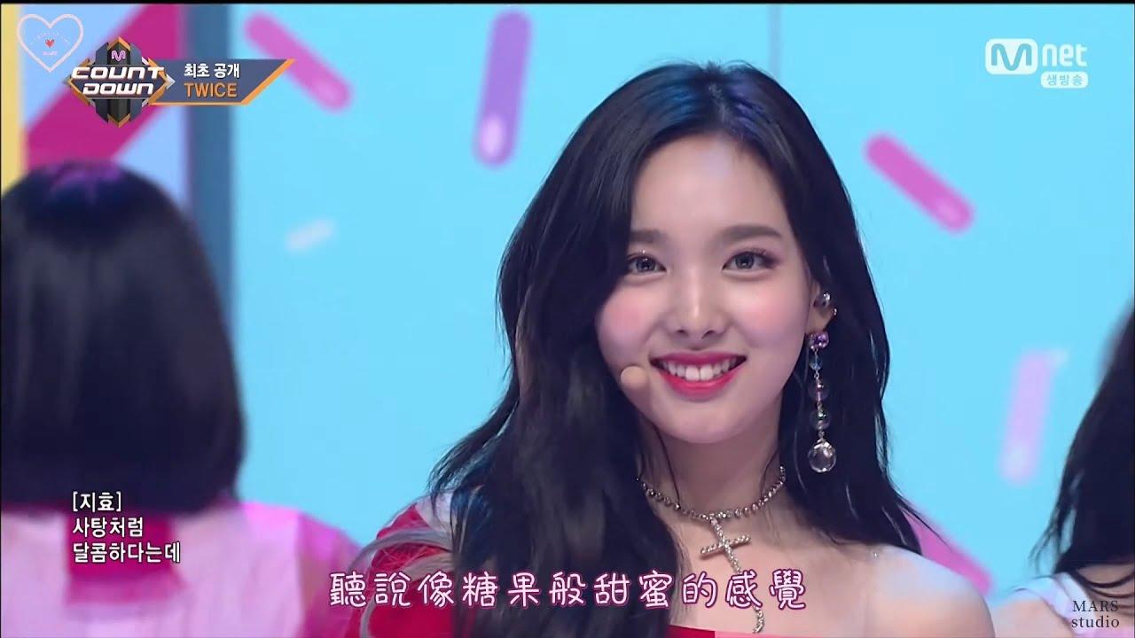 [60FPS] TWICE - What is Love? [LIVE中字] M COUNTDOWN 트와이스 엠카운트다운 【Chinese Subtitles】