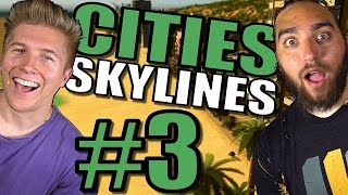 Cities Skylines: After Dark & Snowfall Gameplay [Mods] Tips and Traffic Tutorial – Part 3