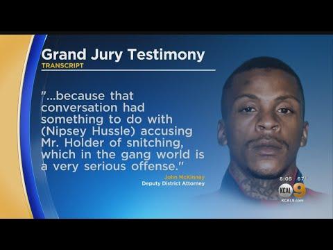 Prosecutor Alleges Nipsey