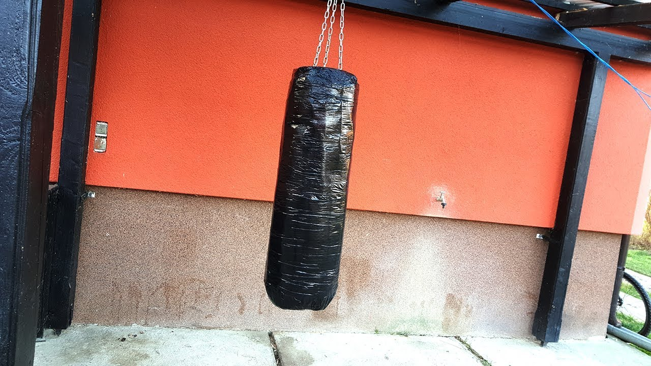Homemade Punching Bag Vreca Za Udaranje
