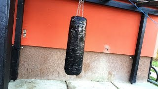 Homemade PUNCHING BAG / Vreca za udaranje