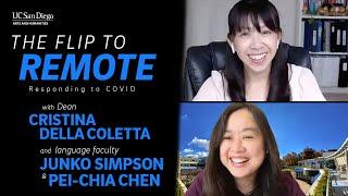 The Flip to Remote with Dean Cristina Della Coletta, Junko Simpson and Pei-Chia Chen
