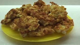 Рыбные Котлеты Рыбные оладьи Оладьи из минтая Простой рецепт Очень вкусно