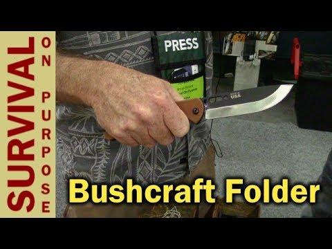 TOPS BOB (Brothers of Bushcraft) Fieldcraft Folder - Blade Show 2017