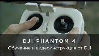 Обучающее видео от DJI по Phantom 4