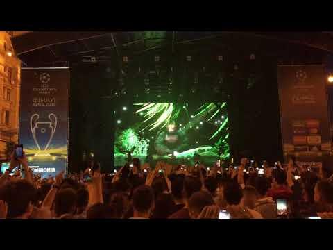 J Balvin & Willy William - Mi Gente (Hardwell & Quintino Remix) [UEFA Championship Festival Kiev]