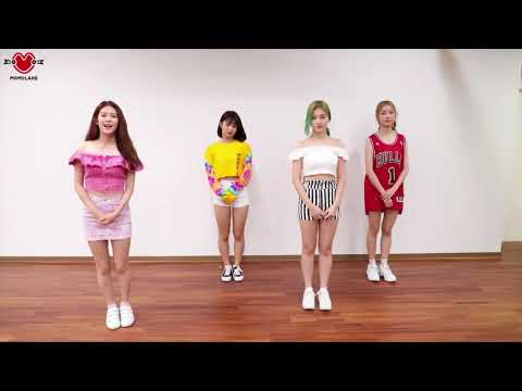 "MOMOLAND(모모랜드) - ""BAAM"" Points Choreography TUTORIAL"