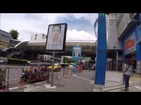 WALKING IN BANGKOK - MBK TO LUMPINI