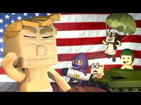 Minecraft | WHO'S YOUR DADDY? President Edition: Baby Donald Trump WW3! (Whos Your President)
