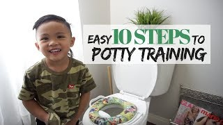 HOW TO POTTY TRAIN TODDLERS⎮HOW WE POTTY TRAINED KING AND MIA⎮BALLAN IN STYLE