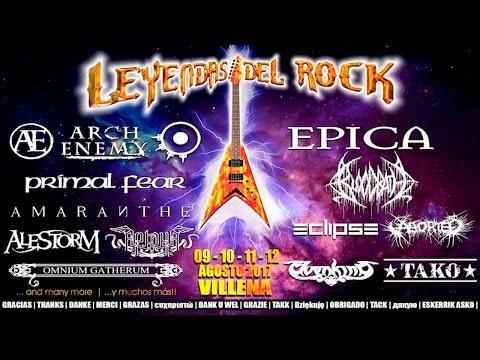 Leyendas del Rock 2017 Press Conference
