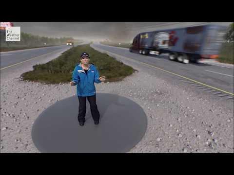 Immersive Mixed Reality: Surviving the Tornado