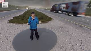 Immersive Mixed Reality: Surviving the Tornado