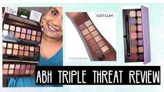 Скачать ABH TRIPLE THREAT REVIEW MR SOFT GLAM NORVINA Karen Harris Makeup