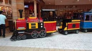 Westfield Shopping Centre New Kids Mall Train (Florida)