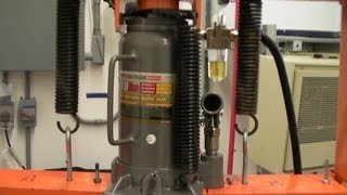 Pimp Your Press with a Harbor Freight 95553 20-ton Pneumatic Bottle Jack!