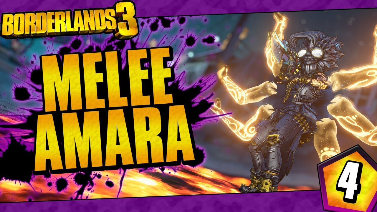 Borderlands 3 | Melee Only Amara Funny Moments And Drops | Day #4 thumbnail