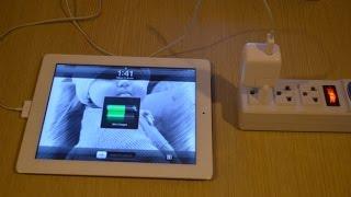 Можно ли заряжать iPad зарядкой от iPhone(, 2016-11-30T11:29:04.000Z)