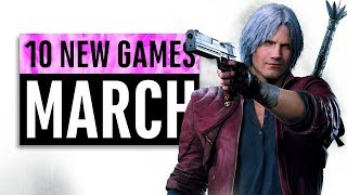 10 New Games Arriving in March 2019