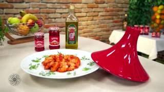 Choumicha : Tajine de crevettes à la sauce tomate | شميشة : طاجين الجمبري (الكروفيت) بصلصة الطماطم