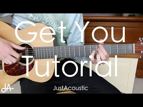 How To Play: Get You - Daniel Caesar ft. Kali Uchis (Guitar Tutorial Lesson)