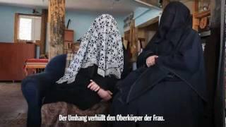 Jüdische Frauen in Israel tragen eine Burka ( Gesichtsschleier )