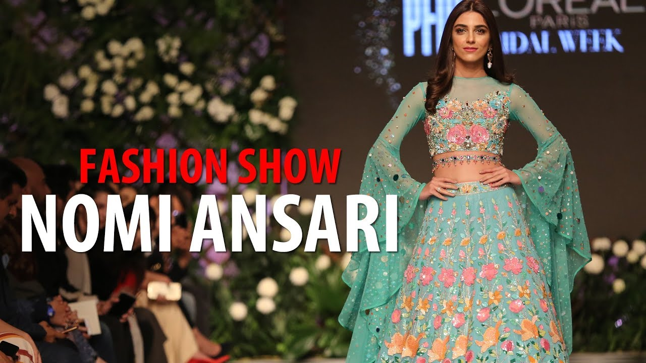 Nomi Ansari Pakistani Fashion Designer | Fashion Show at PFDC