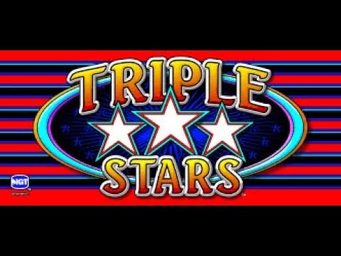 $100 DOUBLE OR NOTHING : TRIPLE STARS SLOT MACHINE - 동영상