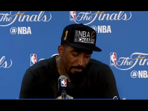 JR Smith Interview After NBA Finals Win