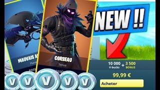 Ravens Bad Omen - Before To Buy - ACHAT - SKIN TEST - TOP 1 / Fortnite Battle Royale