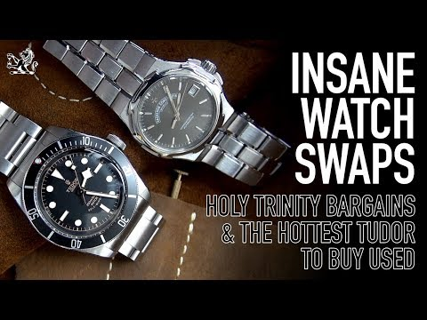 Insane Watch Swaps - The 1st VC Overseas, A Tudor Black Bay & The Rolex Explorer Bros End + Bloopers