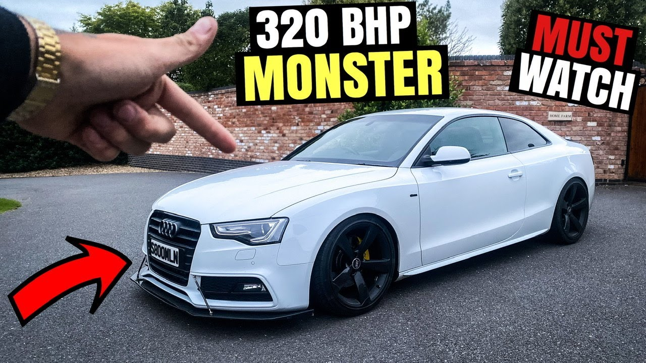 This Diesel Audi A5 Sounds Like A Nissan Gtr Not Clickbait Youtube