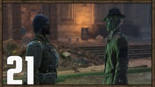 Fallout 4 PC Gameplay Part 21 - Helping Oberland Station