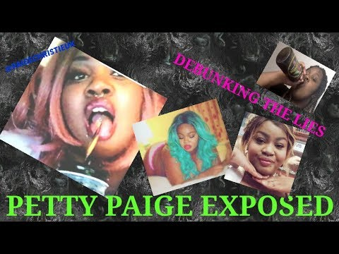 PETTY PAIGE EXPOSED - DEBUNKING THE LIES