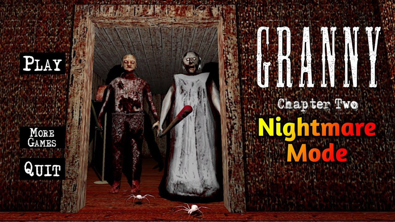 Granny Chapter Two In Nightmare Mode Full Gameplay Version 1 1 5
