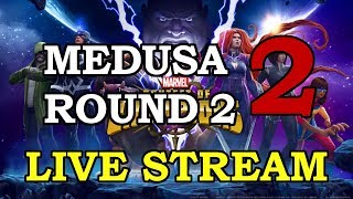 Medusa Round2 - Part 2 | Marvel Contest of Champions Live Stream