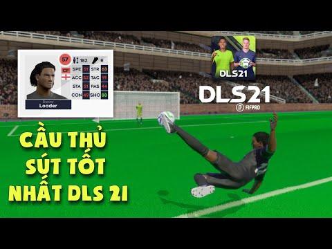 tải dream league soccer 2019 hack full chỉ số - Cầu thủ có chỉ số sút mạnh nhất Dream League Soccer 2021   Best Shoot DLS 21