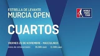 Cuartos de final masculinos - Estrella de Levante Murcia Open 2018 - World Padel Tour